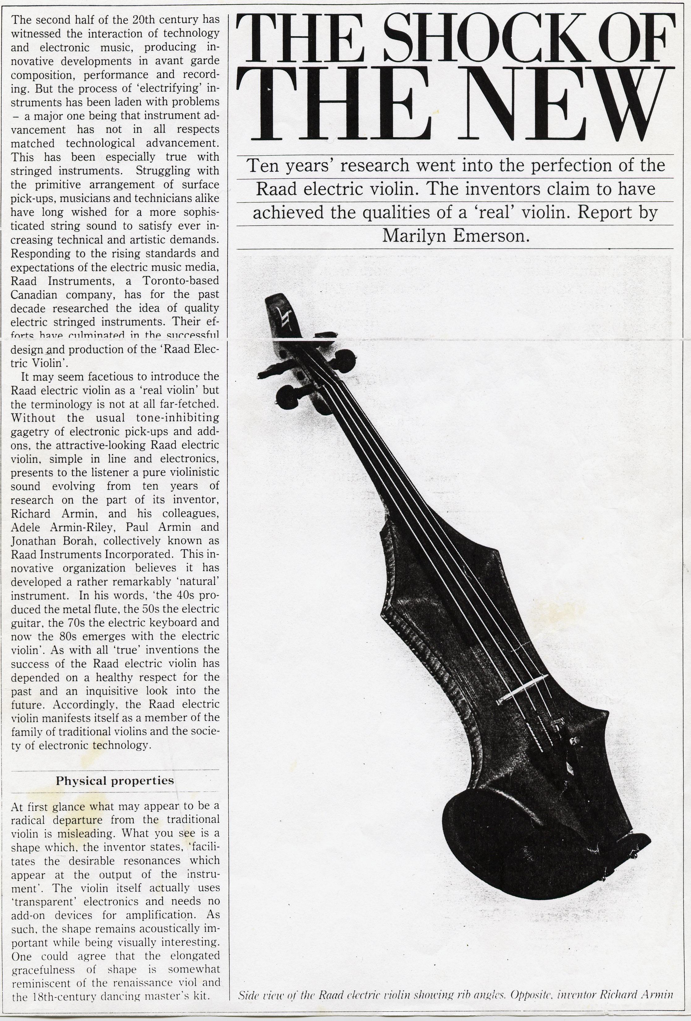 Armin Raad Violin1