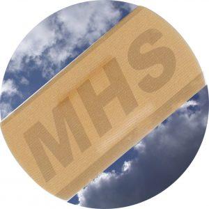 Music Health Service - plaster logo